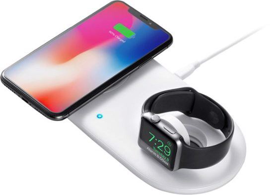 Anker PowerWave+ Wireless Charging Pad with Watch Holder
