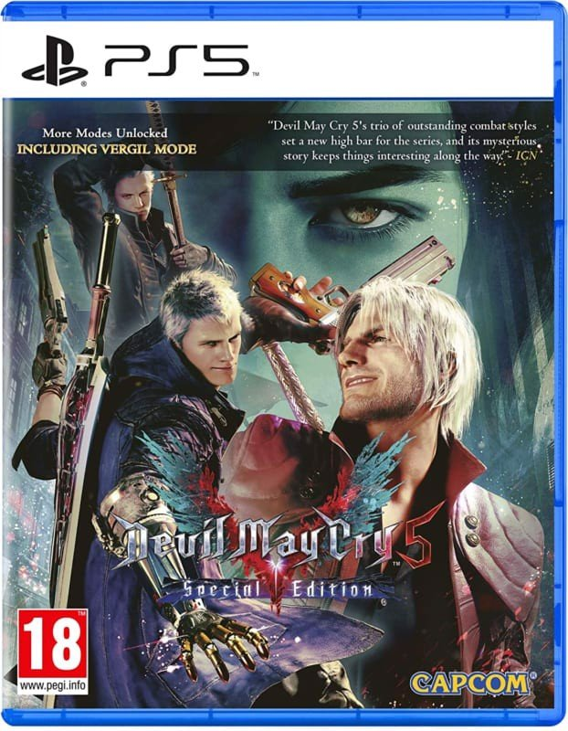 Game PS5 Devil May Cry 5 Special Edition