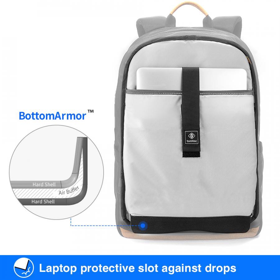 Tomtoc Travel BackPack For Ultrabook 15''