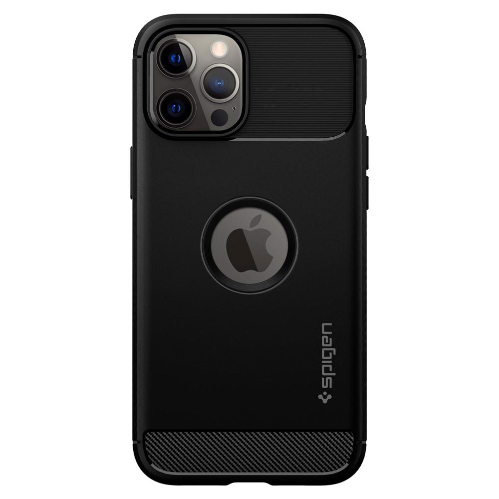 Ốp Spigen Rugged Armor Case iPhone 12 | 12 Pro