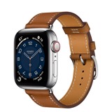 Apple Watch 40mm Hermès Silver Stainless Steel Case with Single Tour