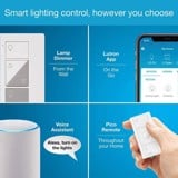 Lutron Caseta Wireless Smart Lighting Lamp Dimmer (2 count) Starter Kit - nhập khẩu