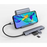 Cổng Chuyển Hyperdrive Bar 6-in-1 USB-C Hub (HD22E) For Macbook, Ipad Pro 2018, PC & Devices
