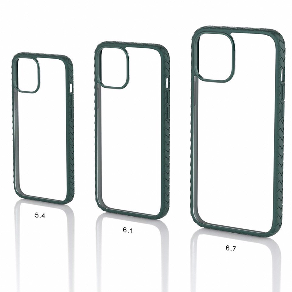 Ốp Mipow Anti Scractches Hybrid Case iPhone 12 | 12 Pro