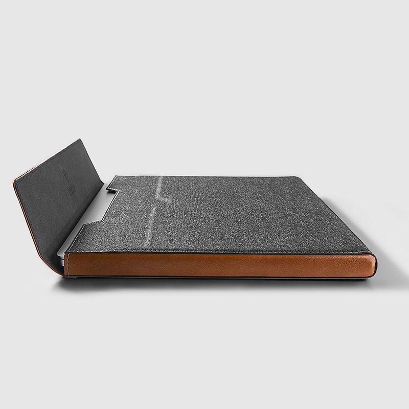 Tomtoc Premium Leather for Macbook Pro 13