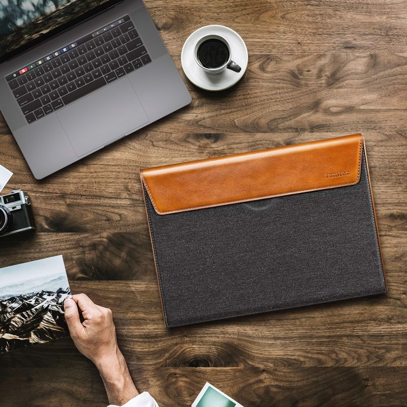 Tomtoc Premium Leather for Macbook Pro 15