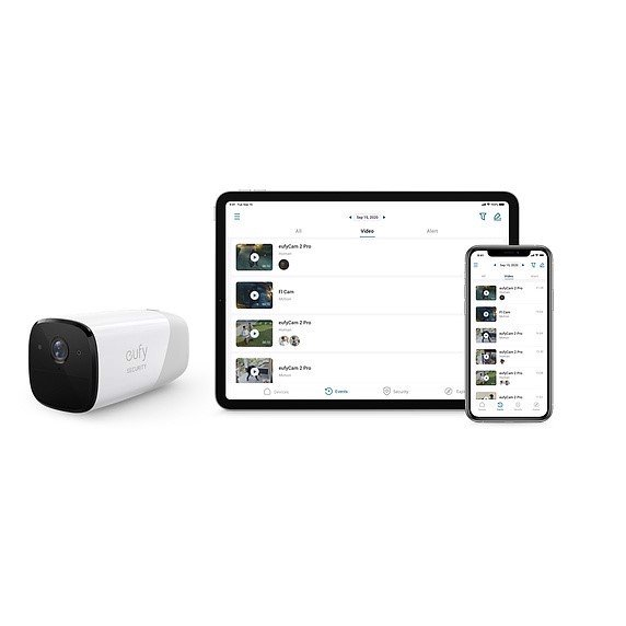 Apple eufyCam 2 Pro Wireless Home Security Camera System