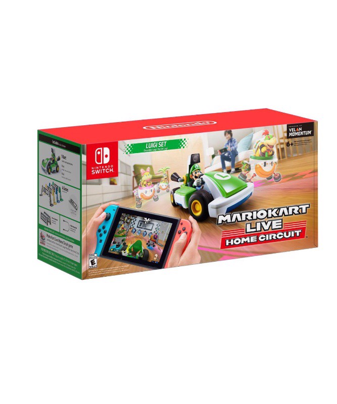 Switch Mario Kart Live Home Circuit Luigi Set