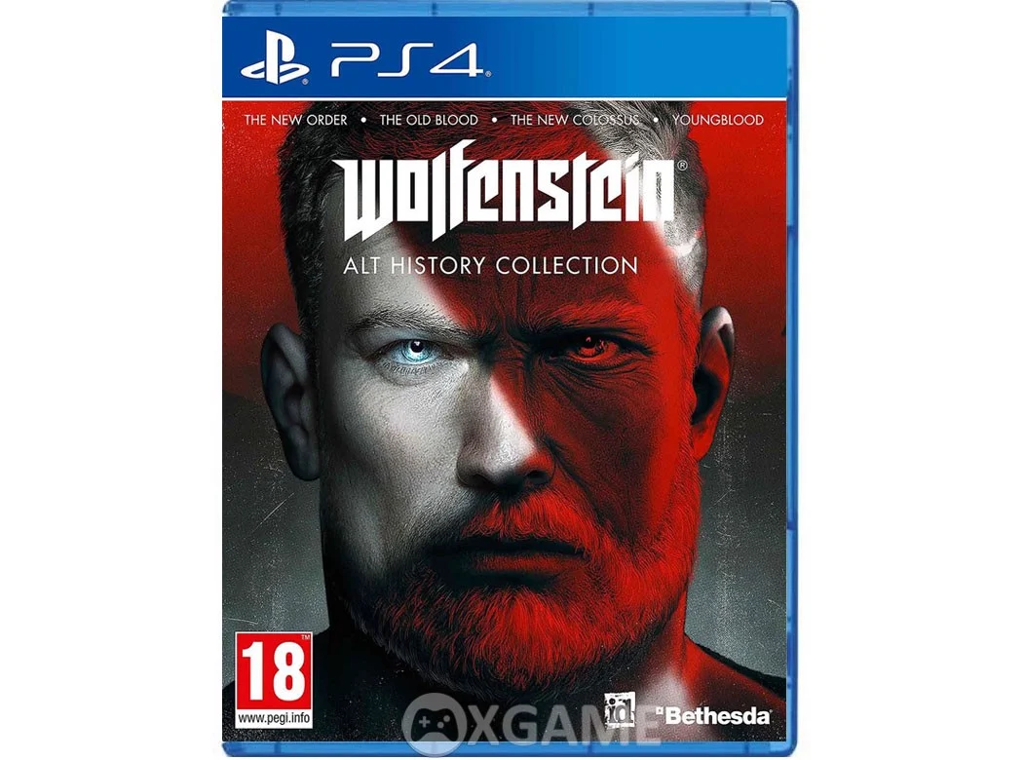 PS4 Wolfenstein Alt History Collection - EU