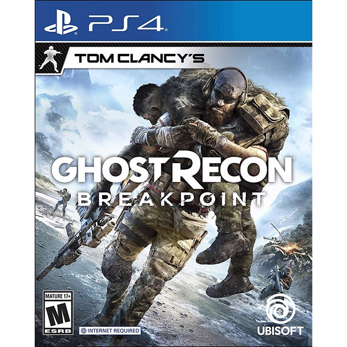 PS4 TomClancy Ghost ReCon BreakPoint - EU
