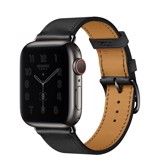 Apple Watch 40mm Hermès Space Black Stainless Steel Case with Single Tour