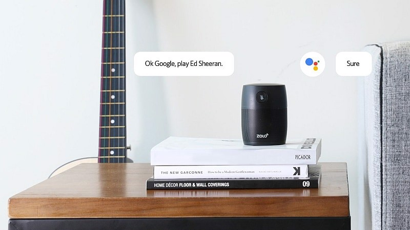 Loa thông minh Anker Zolo Mojo với Built-in Google Assistant
