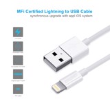Cáp USB-A to lightning IP0026-WH