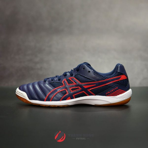 ASICS CALCETTO WD 7 IC – TST334-400 – XANH ĐEN