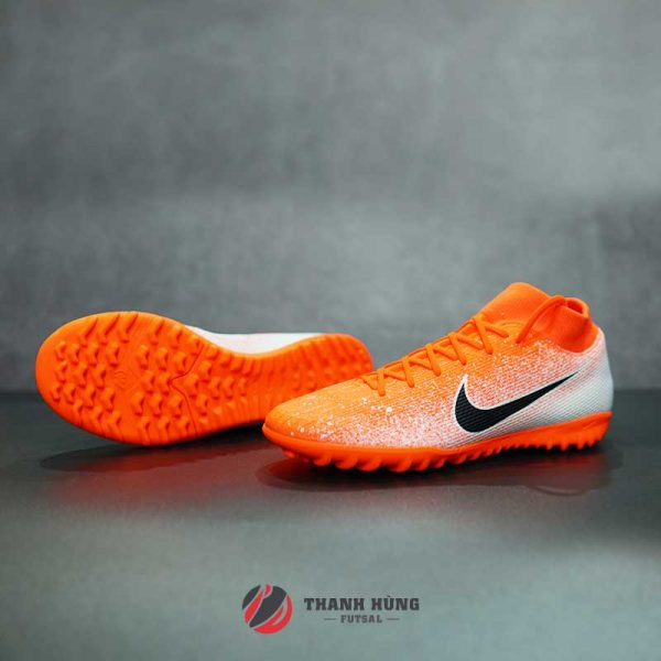 NIKE MERCURIAL SUPERFLY 6 ACADEMY TF – AH7370-801 – CAM/ TRẮNG