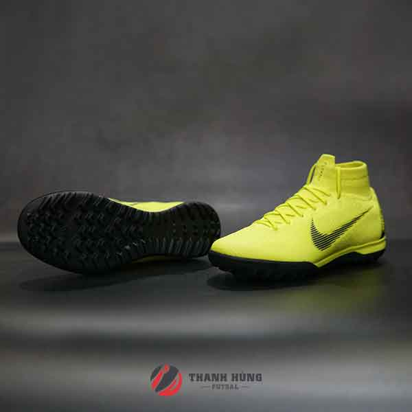 NIKE MERCURIAL SUPERFLY VI ELITE TF – AH7374-701 – XANH LÁ MẠ