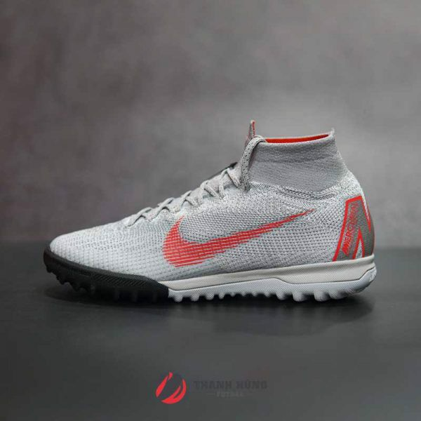 NIKE MERCURIAL SUPERFLYX VI ELITE TF – AH7374 – 060 – XÁM / ĐỎ