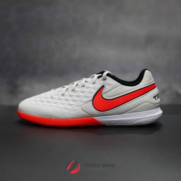NIKE REACT TIEMPO LEGEND 8 PRO IC – AT6134-061 – TRẮNG/ĐỎ