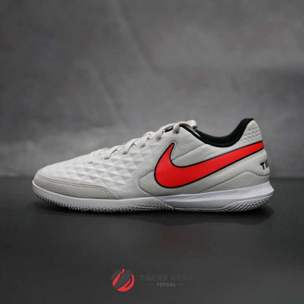 NIKE TIEMPO LEGEND 8 ACADEMY IC – AT6099-061 – TRẮNG/ĐỎ