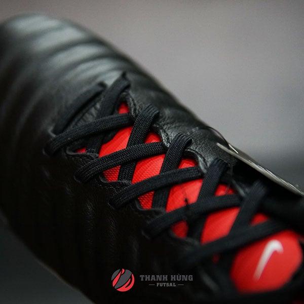 Nike TiempoX Legend 7 Academy TF – AH7243 – 006 – Đen/ Trắng/ Đỏ