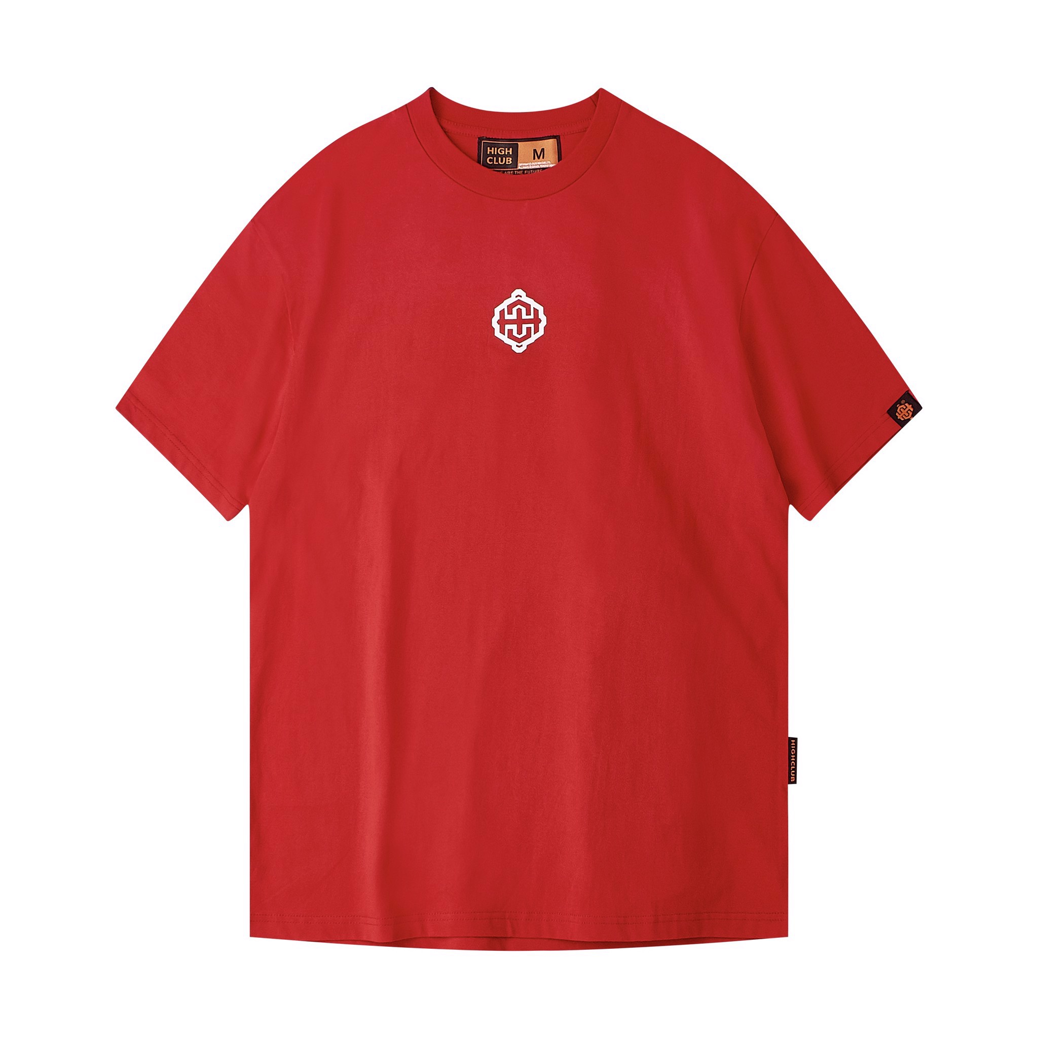 Overflow Tee - Red/White