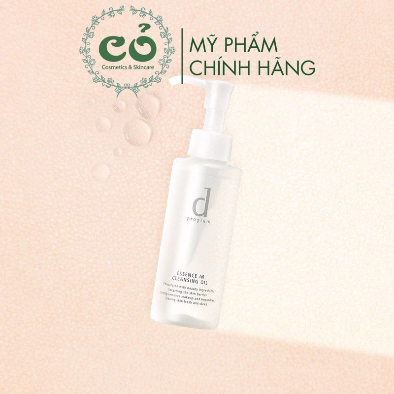 Dầu Tẩy Trang Dưỡng Da D Program Essence In Cleansing Oil 120ml