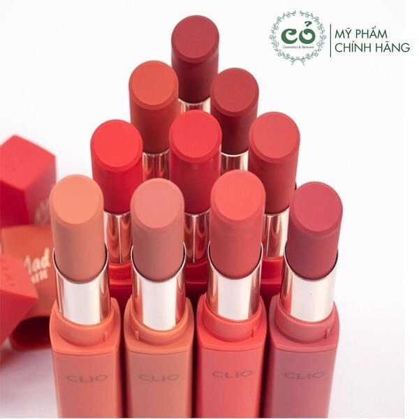 Son thỏi Clio Mad Mattle Stain Lips