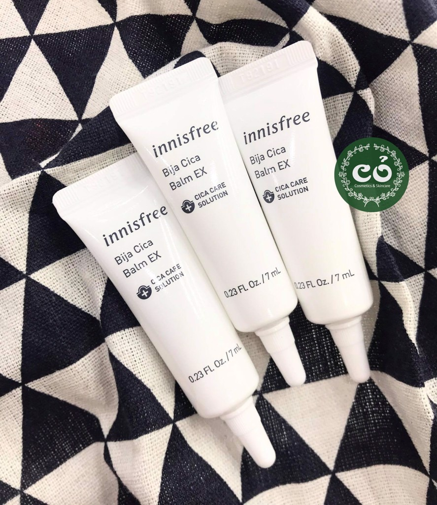Sample Gel trị mụn Bija Cica Balm EX Innisfree (tuýp 7ml)
