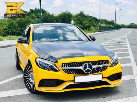 MERCEDES AMG C63 - 01 WRAP YELLOW