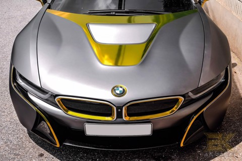 BMW I8 - 02 WRAP GRAY