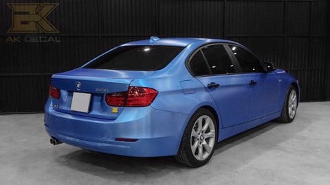 BMW 328I - 01 WRAP BLUE