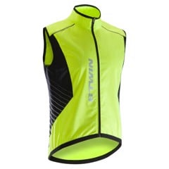 BTWIN - 500 Cycling Vest Softlime