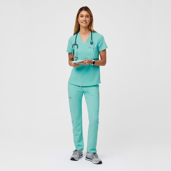 Catarina Scrub Top