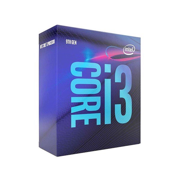 CPU Intel Core i3- 9100 (3.6GHz turbo up to 4.2GHz, 4 nhân 4 luồng, 6MB Cache, 65W) - Socket Intel LGA 1151-v2
