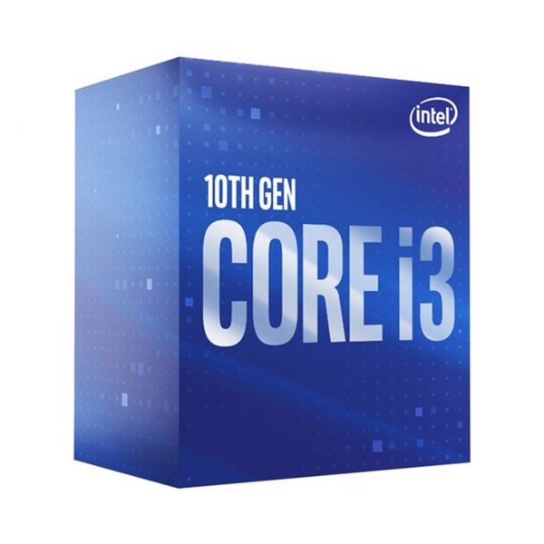 CPU Intel Core i3 - 10100 (3.6GHz turbo up to 4.3Ghz, 4 nhân 8 luồng, 6MB Cache, 65W) - Socket Intel LGA 1200