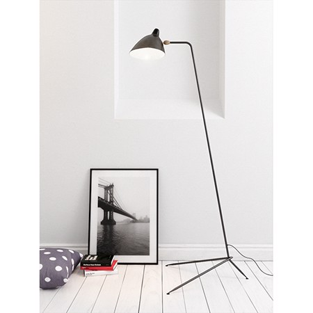 XDS0002 SERGE MOUILLE FLOOR LAMP – 1 ARM