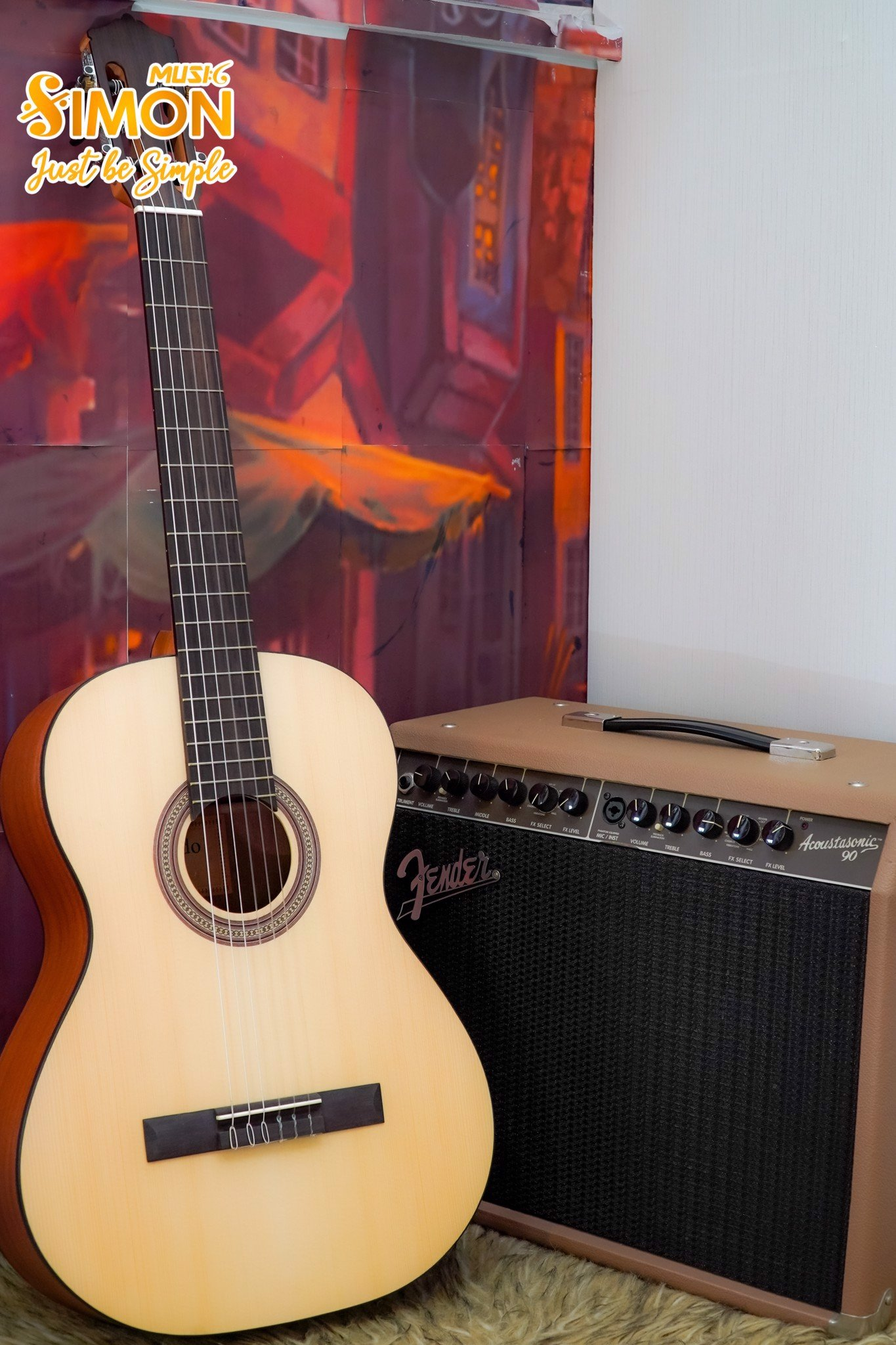 Đàn Guitar Martinez Toledo MC18