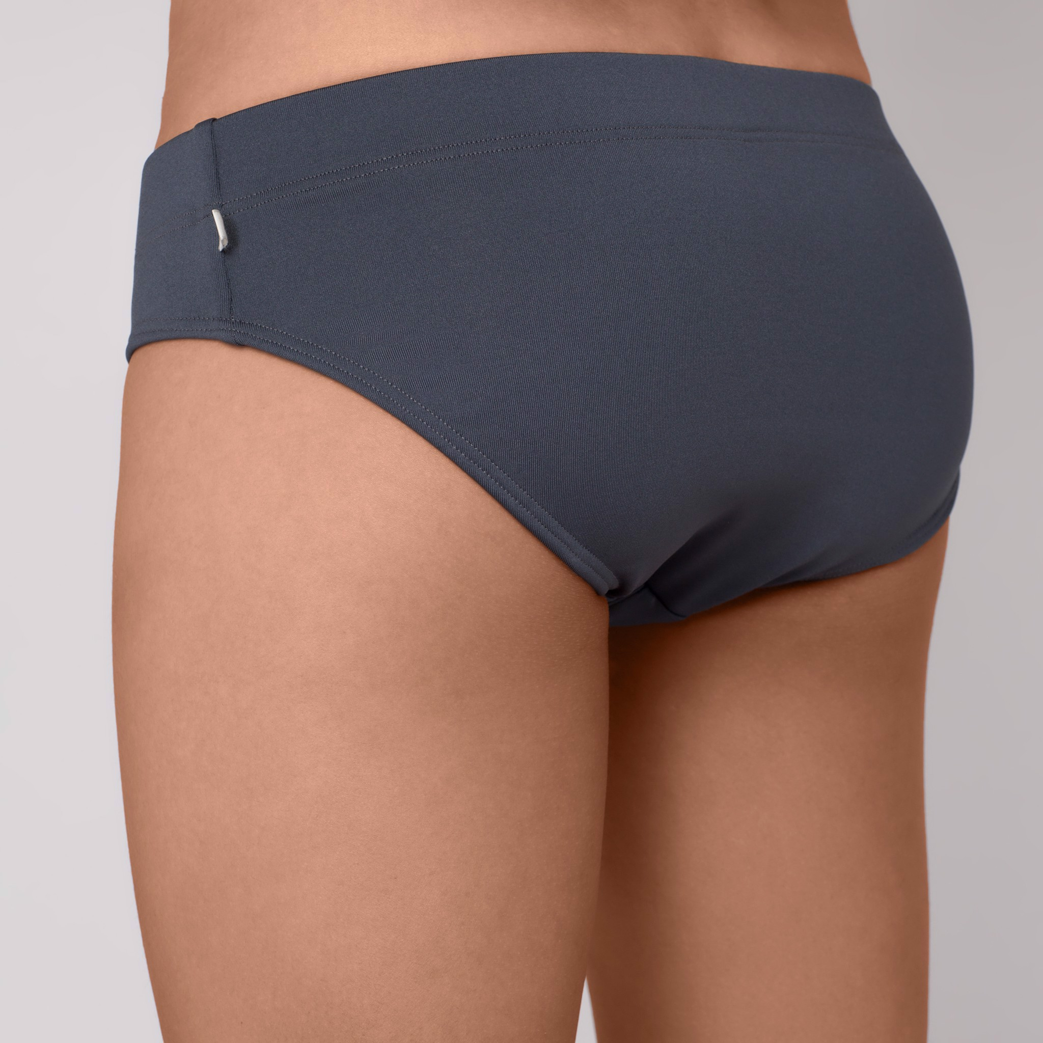 GREY SWIMBRIEF