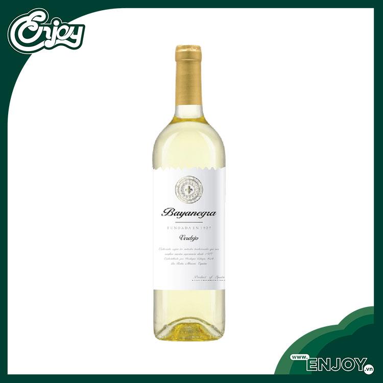 Rượu vang trắng Tây Ban Nha Batanegra Verdejo - 750ml