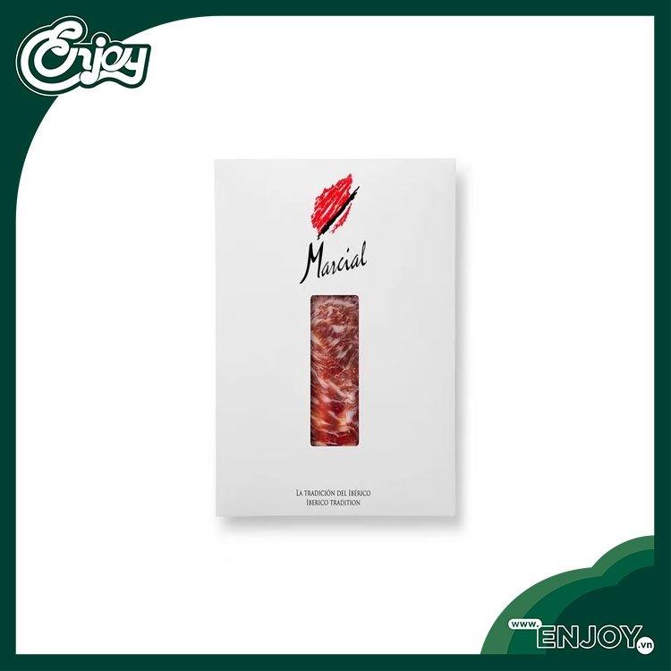 Thịt Heo Muối Marcial-Pre-Sliced Iberico Shoulder - 01 vỉ 90gr