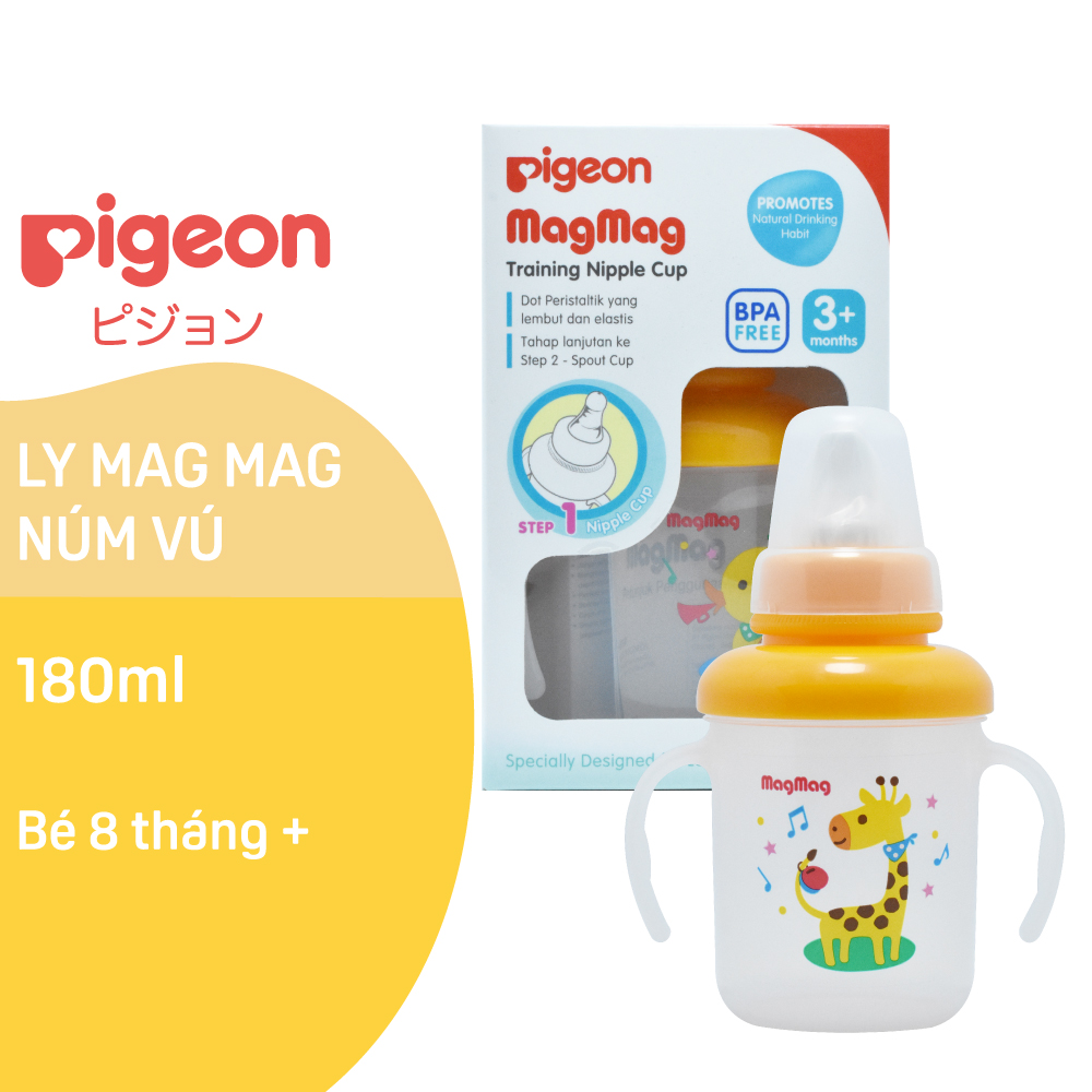 Ly Mag Mag Núm Vú Pigeon 180Ml