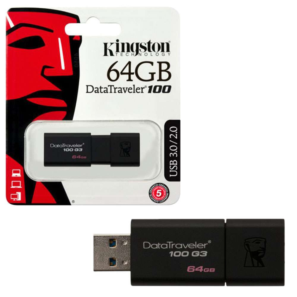USB Kingston DT100 G3 64GB 3.0